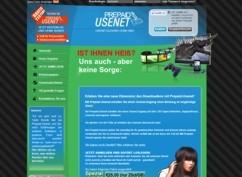 Prepaid Usenet Webseite